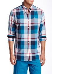Victorinox - Trent Tailored Fit Long Sleeve Shirt - Lyst