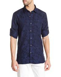 Victorinox - Long Sleeve Print Tailored Fit Shirt - Lyst