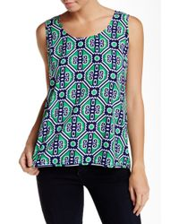 Macbeth Collection - Printed Tank - Lyst