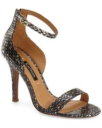 Kay Unger - 'mandie' Ankle Strap Sandal (women) - Lyst