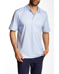 Cutter & Buck - Cb Drytec Empire Print Polo - Lyst