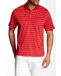 Cutter & Buck - Cb Drytec Stripe Polo - Lyst