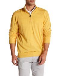 Cutter & Buck - Wool Blend Douglas Half Zip Pullover - Lyst
