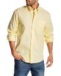 Cutter & Buck - Classic Fit Epic Easy Care Nailshead Long Sleeve Shirt - Lyst