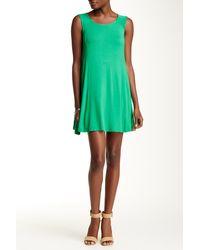 Everleigh - Exposed Zip Tee Dress - Lyst