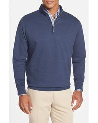 Peter Millar - Interlock Quarter Zip Sweatshirt - Lyst