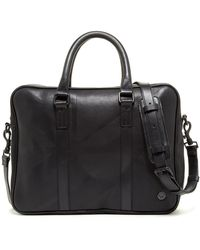 Ben Sherman | Union Leather Briefcase | Lyst
