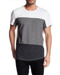 Kenneth Cole - Colorblock Tee - Lyst