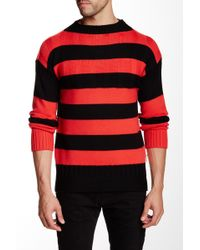 HUNTER - Striped Wool Sweater - Lyst