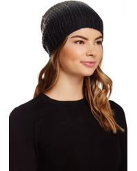 Michael Stars - Laced Knit Ombre Slouched Hat - Lyst