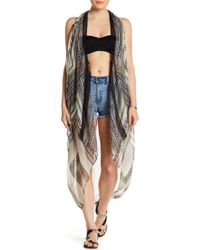 Michael Stars - Neon Tiles Cover-up - Lyst
