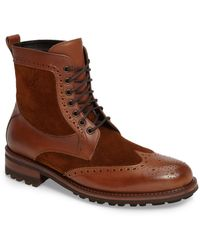 Monte Rosso - Campo Wingtip Boot (men) (nordstrom Exclusive) - Lyst