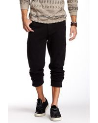 Micros Walter Carrot Fit Sweatpant - Black