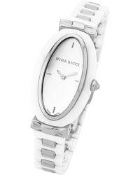 Nina Ricci - Women's Stainless Steel Strap Watch - Lyst