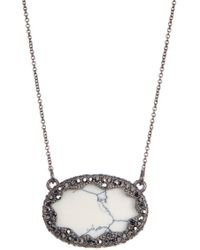 House of Harlow 1960 - Tanga Coast Crystal Cutout Pendant Necklace - Lyst