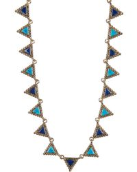 House of Harlow 1960 Native Legend Collar Necklace - Multicolor
