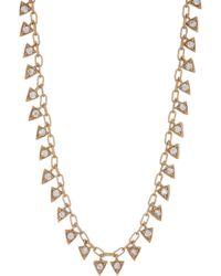 Melinda Maria - Mini Pyramid Fringe Necklace - Lyst