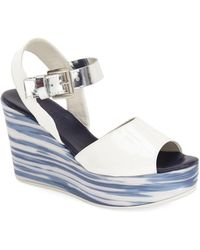 Attilio Giusti Leombruni - 'wave' Platform Wedge Sandal (women) - Lyst