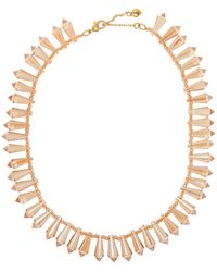 Carolee - Cone Shape Stone Necklace - Lyst