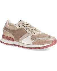 Attilio Giusti Leombruni - 'dalia' Metallic Sneaker (women) - Lyst