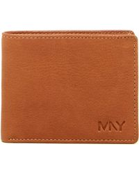 Marc New York - Washed Leather Passcase Wallet - Lyst
