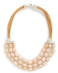 Simon Sebbag - Stone Bib Necklace - Lyst