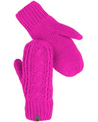 The North Face - Cable Knit Mittens - Lyst