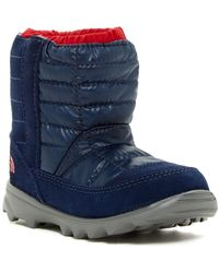 The North Face - Winter Camp Waterproof Boot (toddler & Little Kid) - Lyst