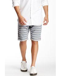 Howe - Flipside Wide Stripe Reversible Short - Lyst