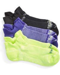 Zella - Tab Back Running Socks - Lyst