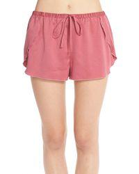 Make + Model - 'flirt With Me' Lounge Shorts - Lyst