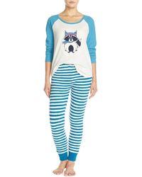 Make + Model - 'cabin Friends' Pyjama Set - Lyst