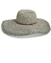 Hinge - 'paper Melange' Floppy Hat - Lyst