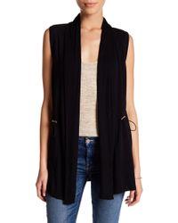 Cable & Gauge - Cinched Vest (petite) - Lyst