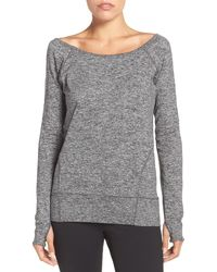 Zella - Etoile Pullover Sweatshirt - Lyst