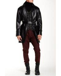 Ports 1961 - Genuine Leather Trench Coat & Quilted Vest Liner - Lyst