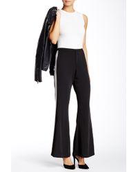 Sugarlips Sporty Stripe Bell Pant - Black