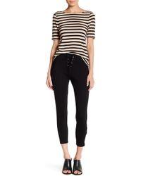 Sugarlips Siena Lace-up Legging - Black