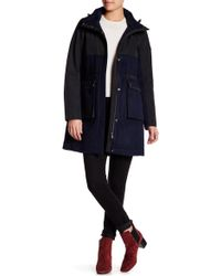 Pendleton - Long Sleeve Hooded Outerwear Jacket - Lyst