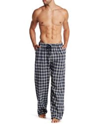 Ben Sherman - Plaid Lounge Pant - Lyst