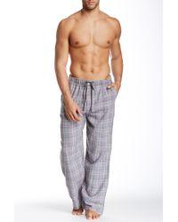Ben Sherman - Plaid Lounge Pant - Lyst