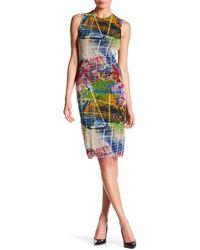 Petit Pois - Sleeveless Print Dress - Lyst