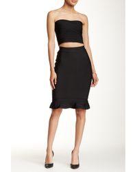 Wow Couture - 2-piece Ruffle Tank & Skirt Set - Lyst