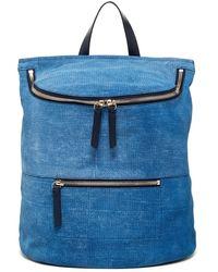 10 Crosby Derek Lam - Mercer Embossed Leather Backpack - Lyst