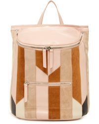 10 Crosby Derek Lam - Mercer Leather Patchwork Backpack - Lyst
