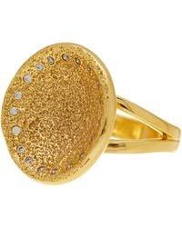 Melinda Maria - Nelly Cz Pod Ring - Size 7 - Lyst