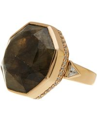 Melinda Maria - Paige Cocktail Ring - Size 7 - Lyst