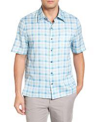 Nat Nast - Sea Breeze Silk Blend Camp Shirt - Lyst