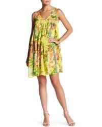 Plenty by tracy reese yellow linen dress