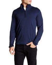 Robert Barakett - Jefferson Half Zip Long Sleeve Shirt - Lyst